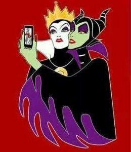 Maléfica y su selfie