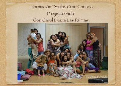 FORMADORA EN FORMACIÓN DOULAS GRAN CANARIA