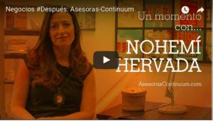 Nohemi Hervada gana premio ING