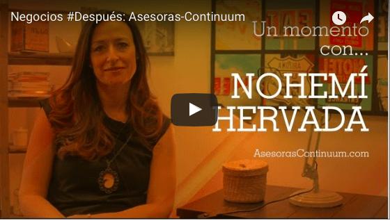Entrevista de ING a  Nohemí Hervada