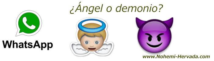 El whatsapp ¿ángel o demonio?