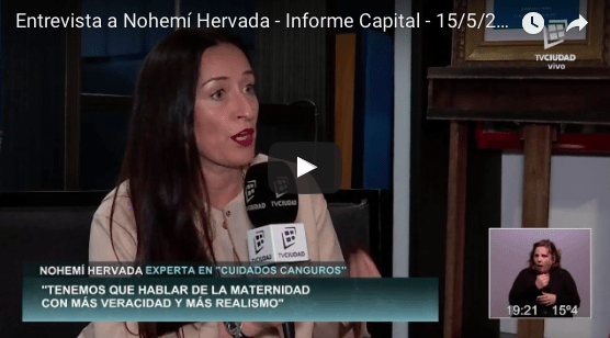 Resumen de participación en Medios de Nohemí Hervada en Argentina y Uruguay