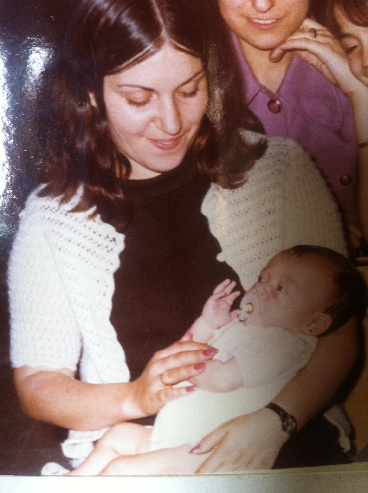 Mi madre y yo (©Nohemí Hervada)
