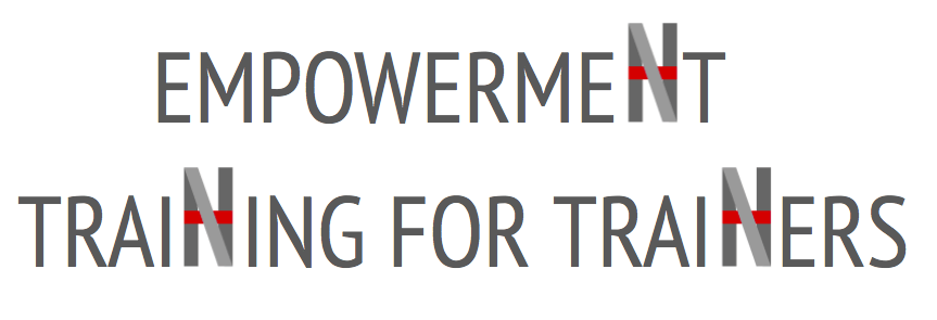 EMPOWERMENT TRAINING FOR TRAINERS