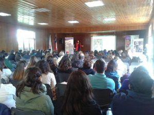 Jornada formación profesionales relacionados con la Infancia- Chile Crece Contigo y Municipalidad Puente Alto
