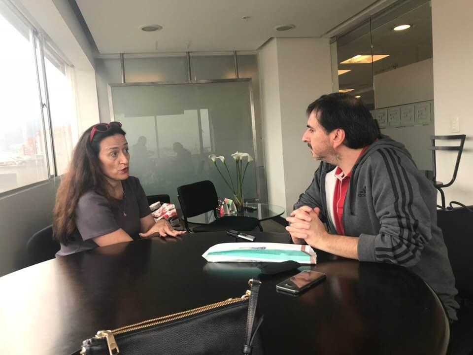Entrevista para el ESPECTADOR