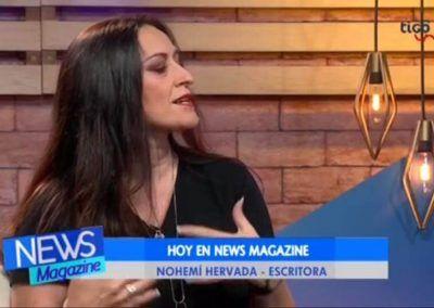 NOHEMI HERVADA EN NEWS MAGAZINE