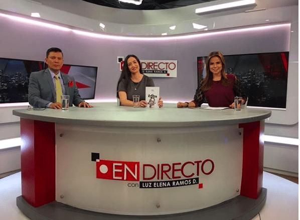 NOHEMI HERVADA EN TV EN DIRECTO-COLOMBIA
