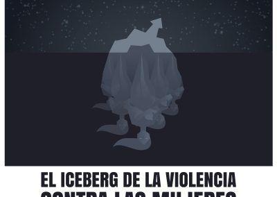 El Iceberg de la violencia contra las mujeres- Conferencia pública