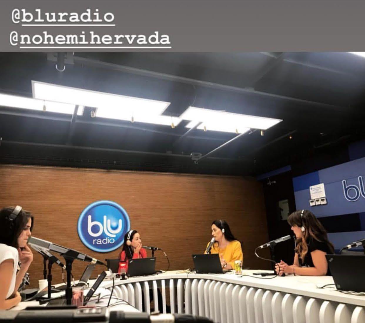 NOHEMI HERVADA EN LA RADIO- COLOMBIA